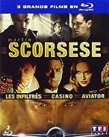 Martin Scorsese - Coffret - Les inflitrés + Aviator + Casino [Blu-ray]