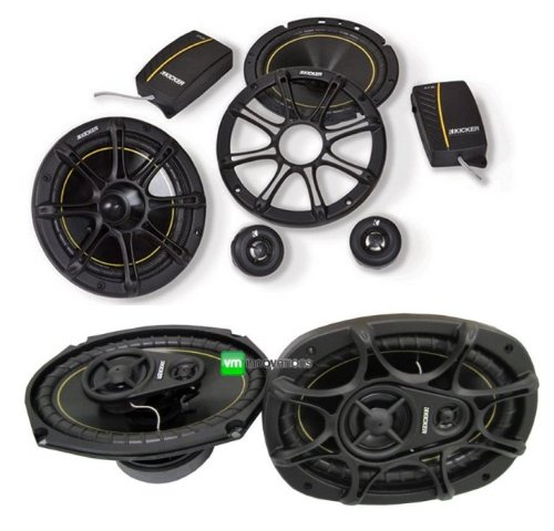 "Kicker Ds65.2+ Ds693 6.5""+ 6X9"" Car Speakers Package"