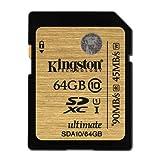 【Amazon.co.jp限定】Kingston SDXCカード 64GB Class10 UHS-I対応 Ultimate (FFPパッケージ) (永久保証) SDA10/64GBFR