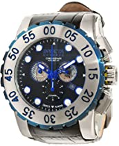 Invicta Reserve Chronograph Black Dial Stainless Steel Mens Watch 11022