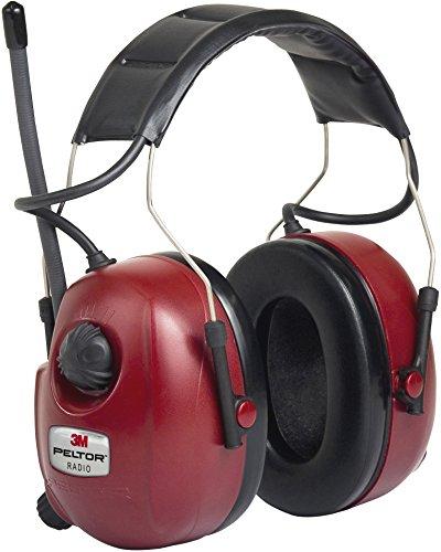 Peltor Fm-Radio Ear Defenders, Wine Red (Hrxs7A-01)