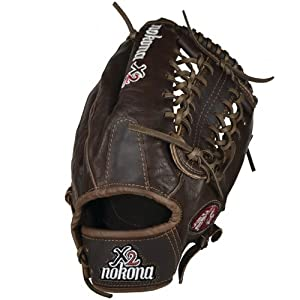 Nokona X2-1275M X2 Elite 12.75 inch Baseball Glove (Right Handed Throw)