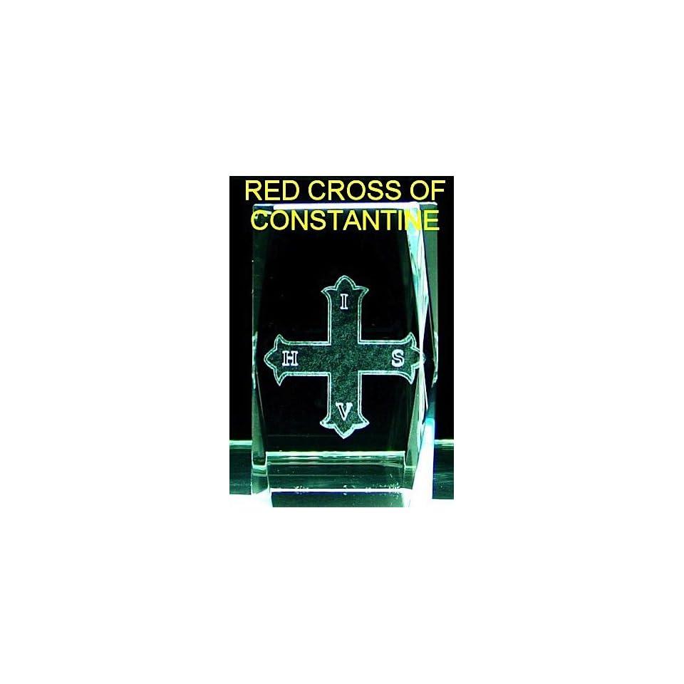 Red Cross Of Constantine Crystal Masonic Freemason on PopScreen