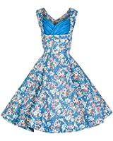 Lindy Bop 'Ophelia' 1950 Vintage Garden Party De Pique-Nique Robe