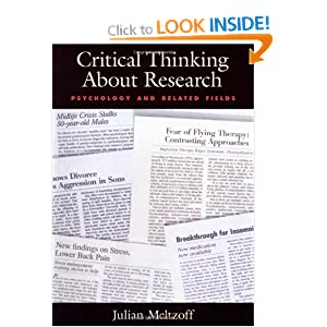 meltzoff (1997) critical thinking about research psychology and related fields If searched for a ebook by julian meltzoff critical thinking about research: psychology and related fields [paperback] [january 1998] (author) julian meltzoff in pdf form, then you've come to correct.