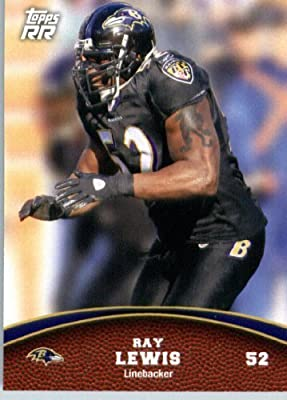 2011 Topps Rising Rookies Football Card #47 Ray Lewis - Baltimore Ravens - NFL Trading Card