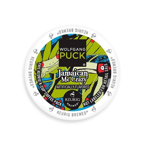 Wolfgang Puck Coffee, Jamaica Me Crazy, K-Cups for Keurig Brewers, 24-Count