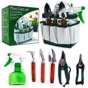 7 In 1 Plant Care Garden Tool Set (Indoor & Outdoor)