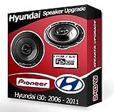 Hyundai i30 Front Door Speakers Pioneer car speakers 240W