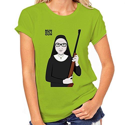 Nun With A Gun Womens Classic T-Shirt Small