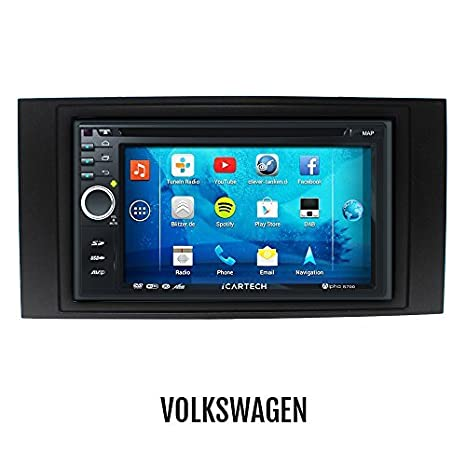 ►Alpha S700 pour VW T5, TOUAREG◄ La Radio Android super costaud avec GPS✔Bluetooth✔WiFi✔Ecran Multi-Touch✔3G✔Navigation✔ Préparée pour : TV (DVB-T) & Radio Numérique (DAB+), Da