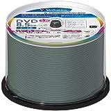 三菱化学メディア Verbatim データ用 DVD+R DL 片面2層 8.5GB 8倍速 ワイド印刷対応 ホワイトレーベル スピンドルケース 50枚パック DTR85HP50V1FFP [フラストレーションフリーパッケージ(FFP)]