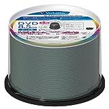 三菱化学メディア Verbatim データ用 DVD+R DL 片面2層 8.5GB 8倍速 ワイド印刷対応 ホワイトレーベル スピンドルケース 50枚パック DTR85HP50V1FFP [フラストレーションフリーパッケージ(FFP)] ランキングお取り寄せ
