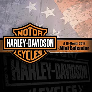 Harley-Davidson 2012 Large Mini Calendar DateWorks