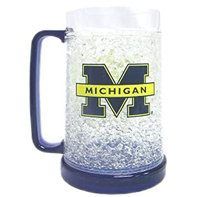 Michigan Wolverines Single Crystal Freezer Mug from Duckhouse from Sports Images