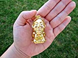 Moonfire Charms Indiana Jones Golden Idol Statue Mini Replica Necklace