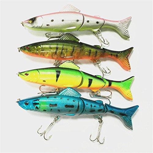 lot-4pcs-supertrip-13cm-18g-3-segment-swimbait-lures-crankbaits-baits-hard-bait-fishing-lures