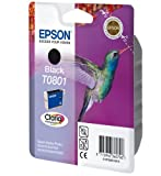 1 Original Printer Ink Cartridge for Epson Stylus Photo R265 - Black