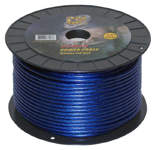 Gsi Gpc10Bl250 - 10 Gauge Power Ground Cable
