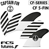 ショートボード用フィン CAPTAIN FIN CO. CF-SERIES CF QUAD CFシリーズ CF5FIN キャプテンフィン FUTUREタイプ FCSタイプ 5FIN 5フィン