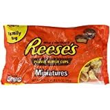 Reese's Peanut Butter Cup Miniatures, 19.75-Ounce Bags (Pack of 3)