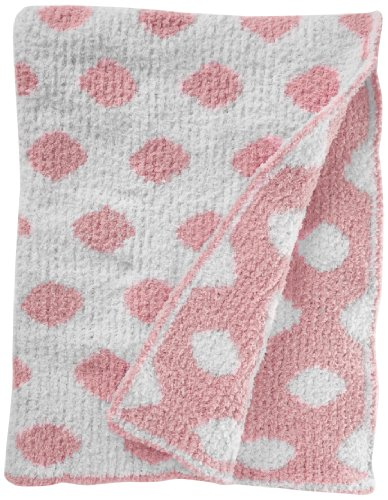 Colorado Clothing Kid's Chunky Chenille Polka Dot Blanket