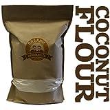 Organic Coconut Flour - NON GMO, Gluten Free, Kosher - 4lb Bag