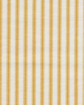 French Country Yellow Ticking Stripe And Gingham Check Full Reversible Duvet Cover front-994186