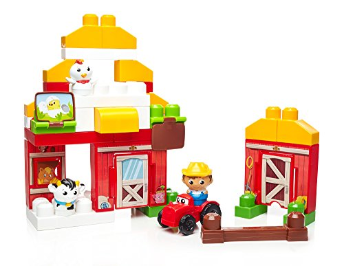 Mega-Bloks-First-Builders-Farmhouse-Friends-Building-Set