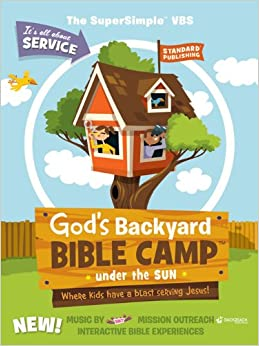 Amazon.com: God's Backyard Bible Camp-Under the Sun SuperSimple VBS Kit (Vacation ...