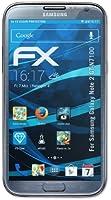 atFoliX - Pellicola protettiva trasparente per Samsung Galaxy Note 2 N7100, 3 pezzi Qualità elevata Made in Germany.