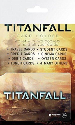 Set: Titanfall, Titan Porta Carte Di Credito (10x7 cm) e 1 Sticker sorpresa 1art1®
