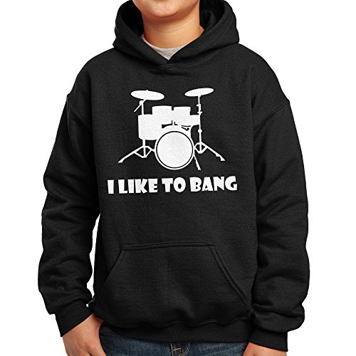 nutees-i-like-to-bang-drummers-drum-set-music-band-unisex-kids-hoodie-black-9-11-years
