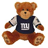 "Basic Fun 14"" Sitting NFL Bruiser Bear - New York Giants"
