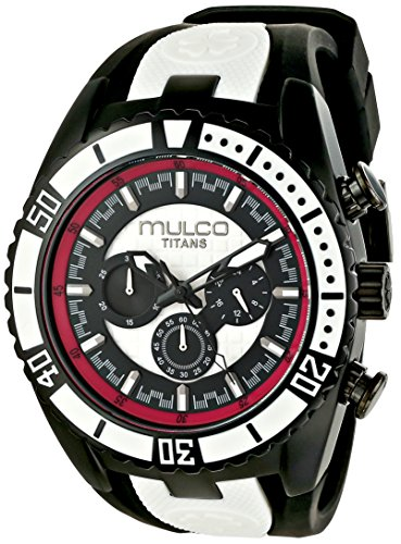MULCO MW5-1836-028 UNISEX BLACK LEATHER CASE RRP £168 WATCH
