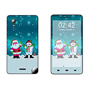 Skintice Designer Vinyl Skin Sticker for Micromax Doodle 3 A102, Design - Christmas Day