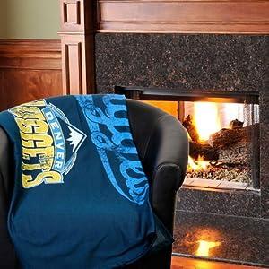 Denver Nuggets Sweatshirt Throw Blanket by Northwest