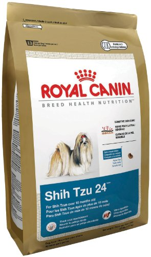 Royal Canin Dry Dog Food, Shih Tzu 24 Formula, 10-Pound Bag