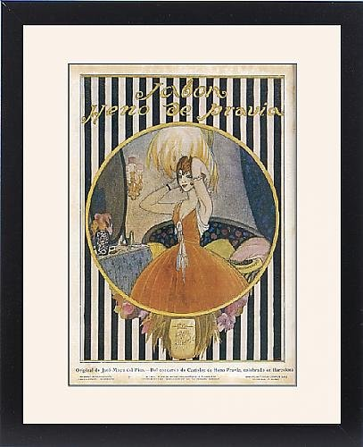 Framed Print Of Advert/Pravia Soap 1916 front-1071633