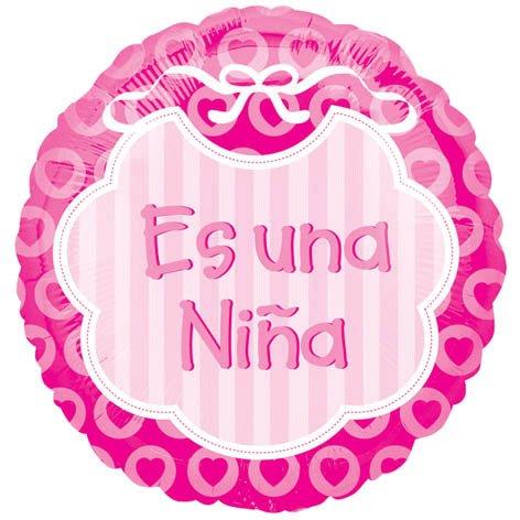 18 Inch Discount Es Una Nina Balloon