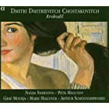 Chostakovitch - Trio op.67 / 5 Romances op.121 / Satires op.109...par Arthur Schoonderwoerd