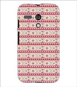 PrintDhaba Pattern D-5112 Back Case Cover for MOTOROLA MOTO G (Multi-Coloured)