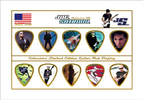 Joe Satriani Chitarra Pick Plettri Display Limited to 150