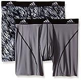 adidas Men's Sport Performance Climalite Boxer Brief Underwear (2 Pack