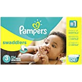 Pampers Swaddlers Diaper Size 3 Giant Pack 124 Count