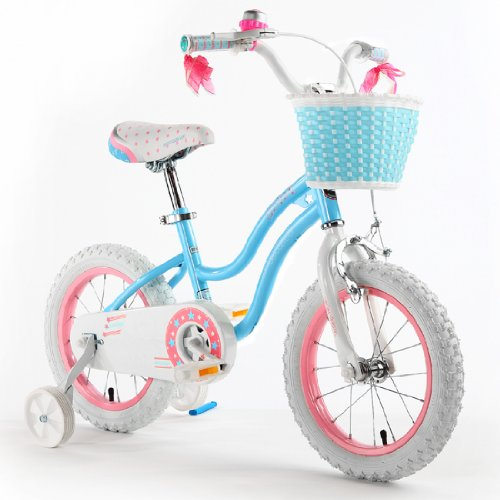 Best Review Of Royalbaby Stargirl Girls Bike with Training Wheels and Basket, Best Gifts for Girls. ...
