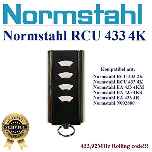 NORMSTAHL RCU433 4K handsender 4-kanal 433.92Mhz