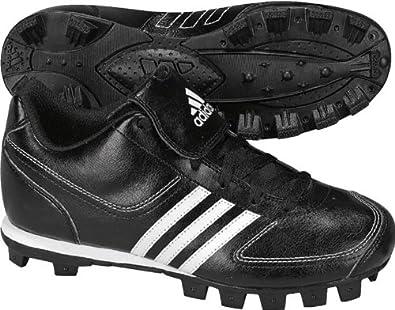 Adidas Tater 3 Baseball Cleats Black White US Size 1 Youth Unisex Child by adidas