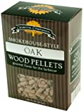 Charcoal Companion CC6049 Eiche Smokehouse-Style Wood Pellets