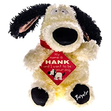 Hank The Plush Dog Toy